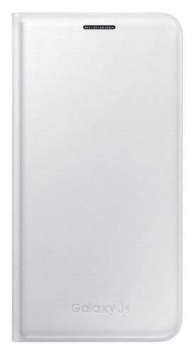 Fotografie Pouzdro na mobil flipové Samsung pro Galaxy J5 (EF-WJ500B) - bílé