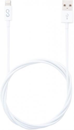 Kabel Epico USB/Lightning, 1m bílý