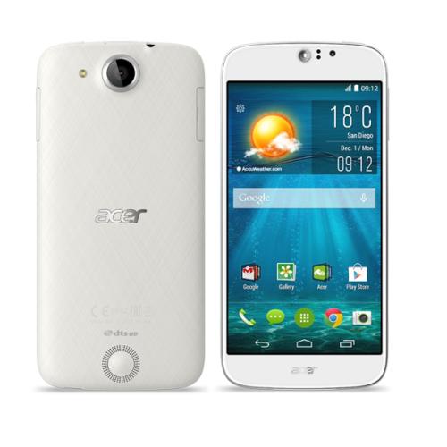 Acer Liquid Jade S Single SIM LTE bílý
