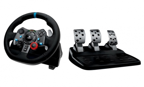 Fotografie Logitech G29 Driving Force závodní volant - PC/ PS3/ PS4