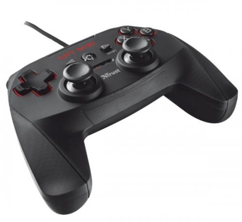 Gamepad Trust GXT 540 Wired pro PC, PS3 černý