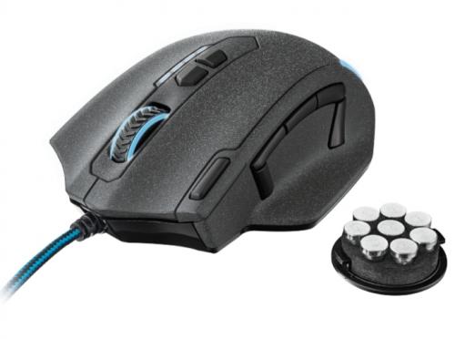 Myš Trust GXT 155 Gaming černá (/ optická / 11 tlačítek / 4000dpi)