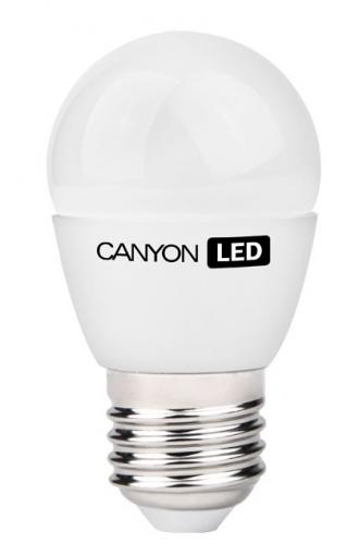 Fotografie Žárovka LED Canyon mini globe, 3,3W, E27, teplá bílá
