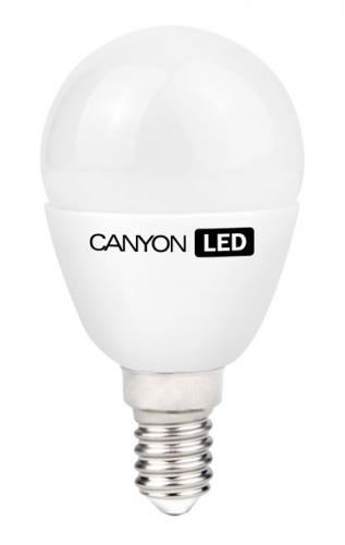 Fotografie Žárovka LED Canyon mini globe, 6W, E14, teplá bílá