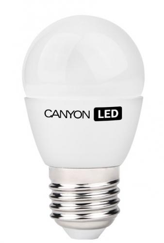 Canyon mini globe, 6W, E27, teplá bílá