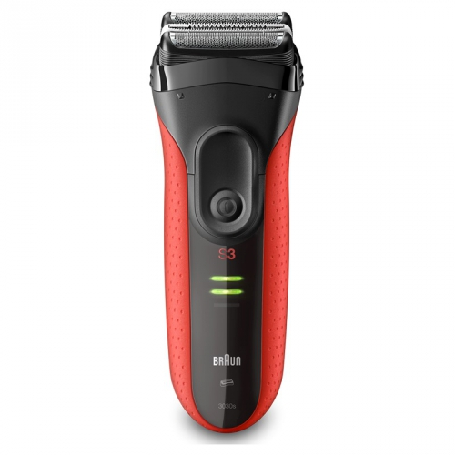 Braun Series 3-3030s černý/červený