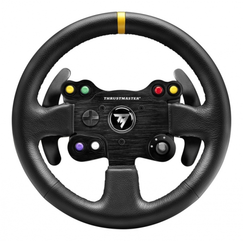Thrustmaster Leather 28 GT Add-On pro T300/T500/TX Ferrari 458 Italia černý