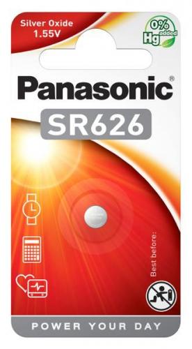 Baterie Panasonic SR626, blistr 1ks