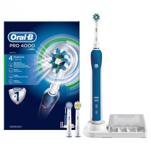 Oral-B Pro 4 000 modrý
