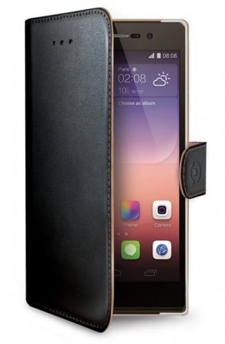Celly Wally pro Huawei P8 Lite černé (WALLY507)