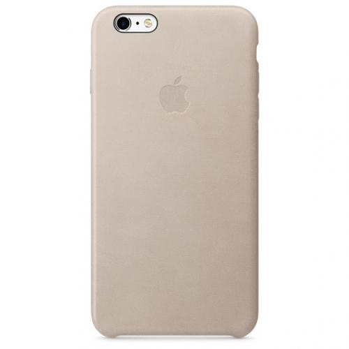Apple Leather Case pro iPhone 6S Plus - Rose Gray