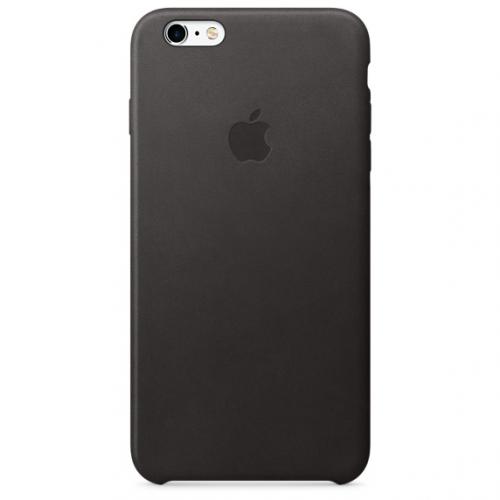 Apple Leather Case pro iPhone 6S Plus - Black