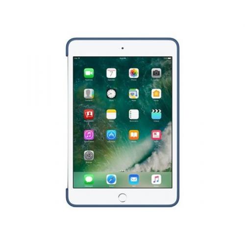 Apple Silicone Case pro iPad mini 4 - půlnočně modré