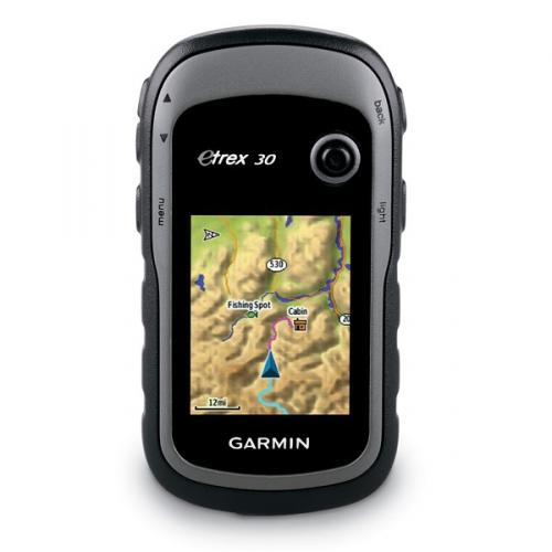 Navigační systém GPS Garmin eTrex 30x, východní Evropa černá/šedá