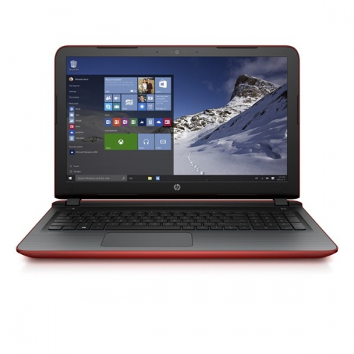 HP 15-ab218nc červený