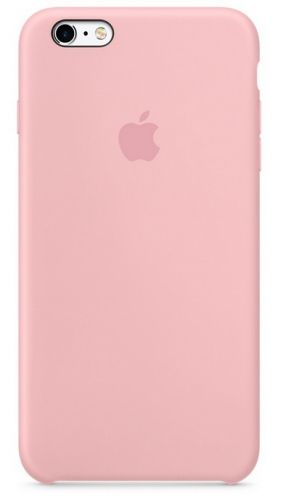Apple Silicone Case pro iPhone 6S Plus - Pink