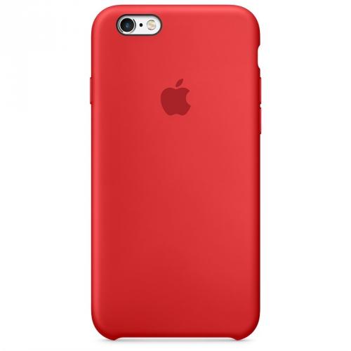 Kryt na mobil Apple Silicone Case pro iPhone 6/6s PRODUCTRED™ červený