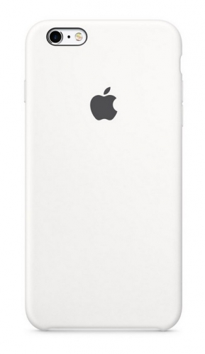 Apple Silicone Case pro iPhone 6S - White