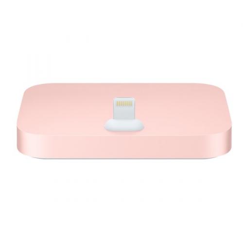 Apple Lightning Dock pro iPhone - růžově zlatý