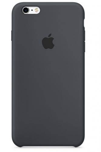 Apple Silicone Case pro iPhone 6/6s - uhlově šedý