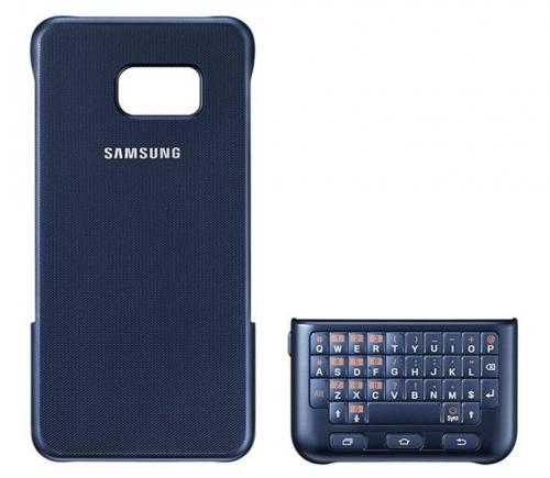 Samsung s klávesnicí pro Galaxy S6 Edge+ (EJ-CG928BB) modrý