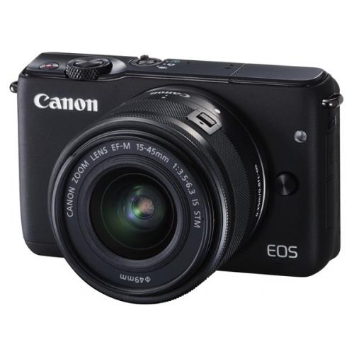 Canon EOS M10 + 15-45mm STM černý ()