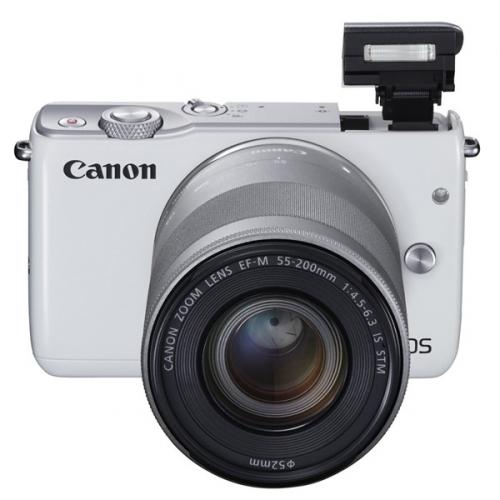 Canon EOS M10 + 15-45mm STM bílý ()