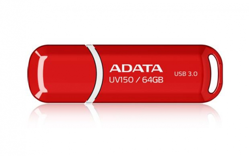 USB Flash ADATA DashDrive UV150 64GB červený