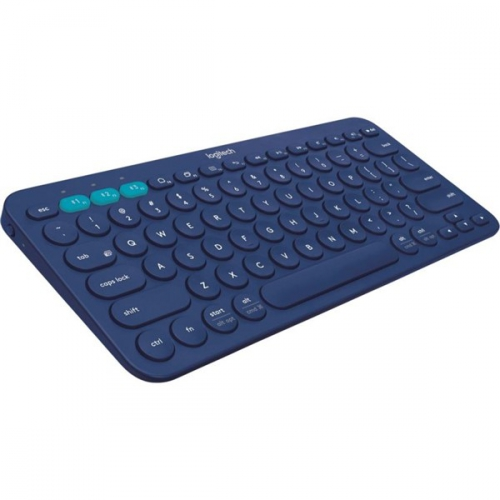 Logitech Bluetooth Keyboard K380 US modrá
