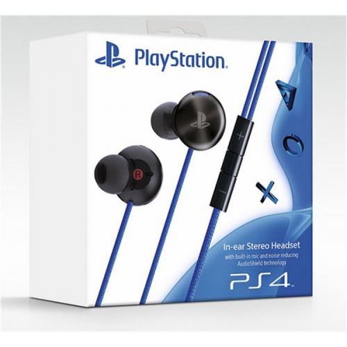 Sony PlayStation 4 In-ear Stereo Headset - sluchátka do uší s funkcí potlačení hluku