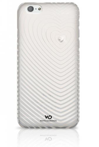 White Diamonds Heartbeat pro iPhone 6 bílý