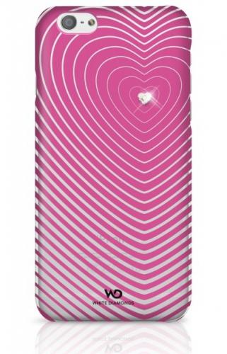 White Diamonds Heartbeat pro iPhone 6 růžový