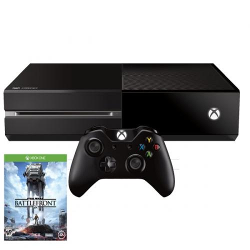 Microsoft Xbox One 500GB + Star Wars Battlefront černá