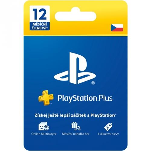 Sony PlayStation Plus Card 365 dní - pouze pro CZ PS Store