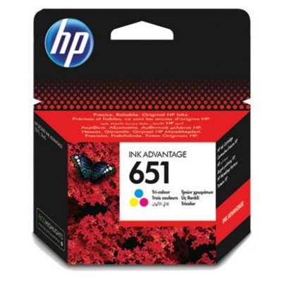 HP Cartridge HP 651, C2P11AE