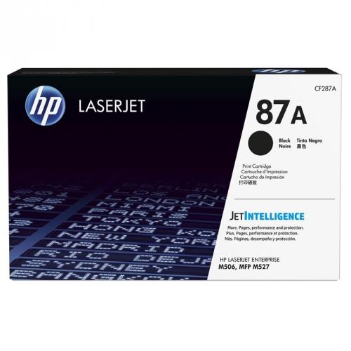 HP CF287A laserjet černý