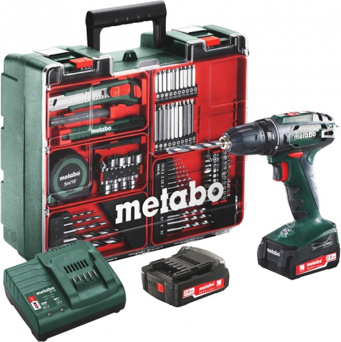 Metabo BS 14.4 Set MD 2x2,0Ah zelená