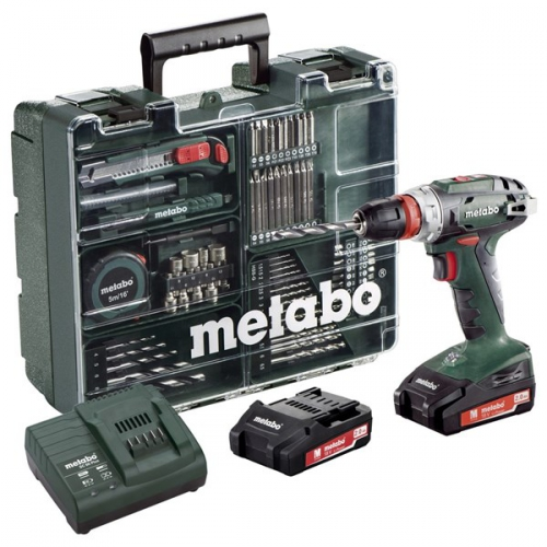 Metabo BS 18 Quick MD 2x2,0Ah zelená