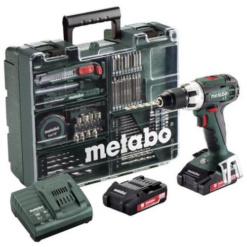 Metabo BS18LT MD2x2,0Ah 1-13mm