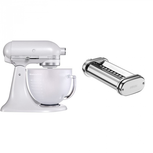 Set (Přísl. k robotům - nástavec na těstoviny KitchenAid 5KSMPRA) + (Kuchyňský robot KitchenAid Artisan 5KSM156EFP)