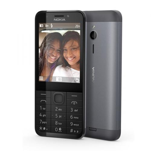 Nokia 230 Dual SIM černý + dárek (A00026952)