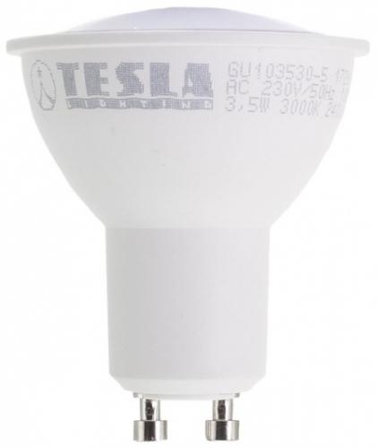 Tesla bodová, 3,5W, GU10, teplá bílá
