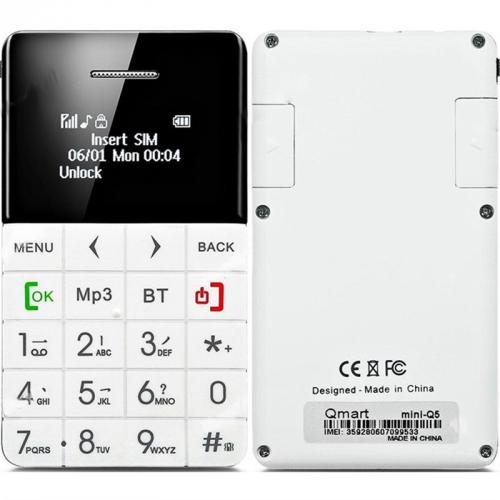 CUBE 1 CardPhone bílý