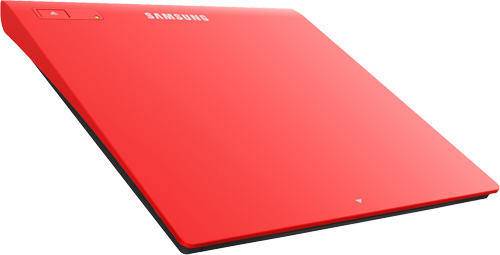 Samsung SE-208GB 8x, USB, slim červená