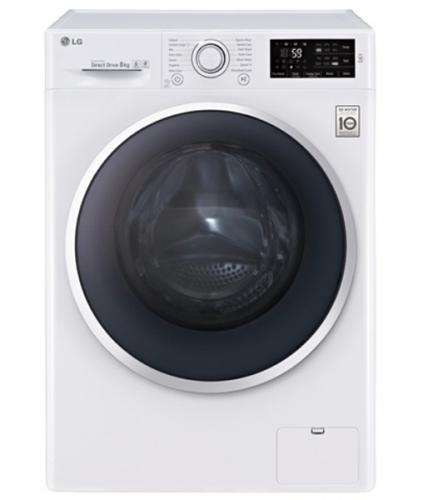 LG Direct Drive F84U2TDN1 černá/bílá