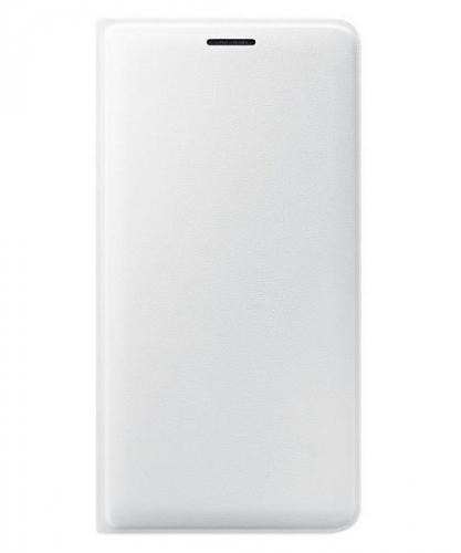 Pouzdro na mobil flipové Samsung pro Galaxy J3 2016 bílé