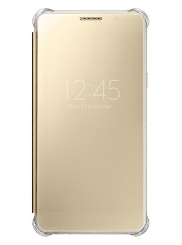 Fotografie Samsung Clear View pro Galaxy A5 2016 (EF-ZA510C) zlaté (EF-ZA510CFEGWW)