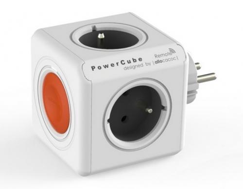 Fotografie Powercube Original Remote, 4x zásuvka bílá ()