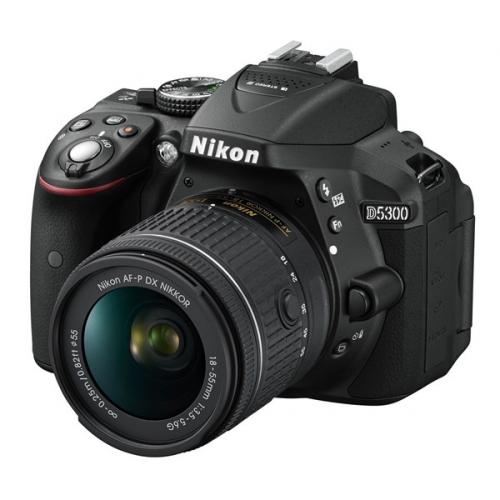 Fotografie Nikon D5300 + AF-P 18-55 VR