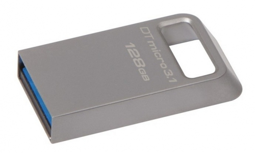 USB Flash Kingston DataTraveler Micro 3.1 128GB kovový